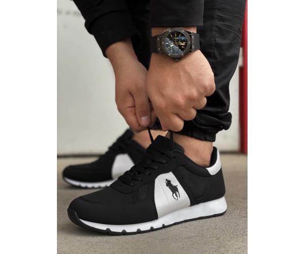 Кросівки polo black 24-0+