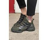 Жіночі кросівки dior green 34-1, фото 2