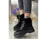 Женские ботинки tundra black 17-3+, фото 2