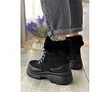 Женские ботинки tundra black 17-3+, фото 3