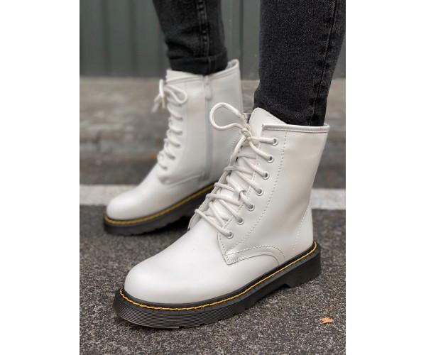 Женские ботинки martin white new 29-3