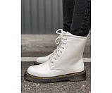 Женские ботинки martin white new 29-3, фото 2