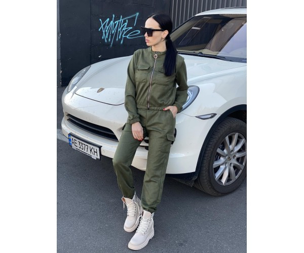 Женский костюм tactic green 21-1+