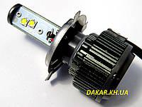 Светодиодные автомобильные лампы H4 дальний - ближний 40W Sho-Me