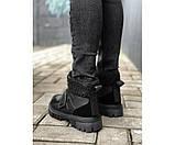 Жіночі черевики sport black 30-0+, фото 3