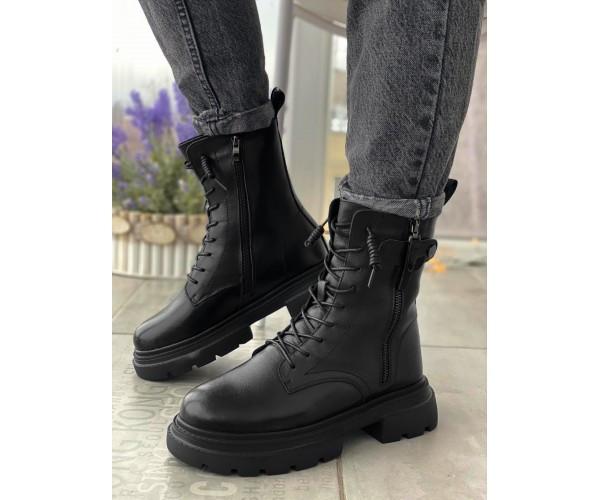 Женские ботинки boss leather 32-2