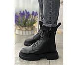 Женские ботинки boss leather 32-2, фото 2