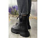 Женские ботинки boss leather 32-2, фото 3