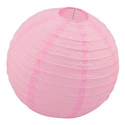 Декор подвесной Шар (35см) розовый 611533287