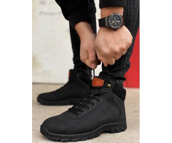 Кроссовки cross boot black 28-3