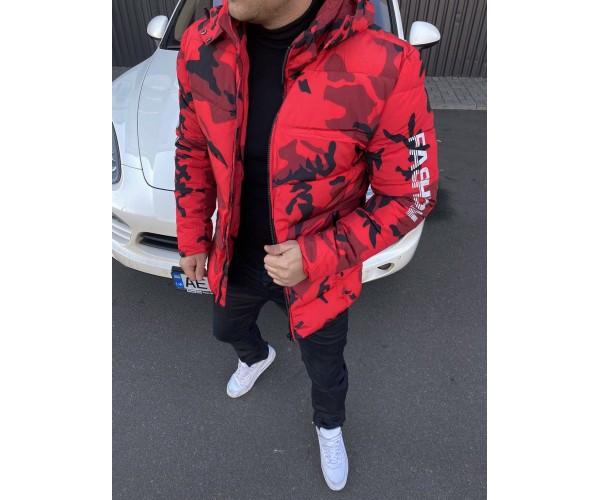 Куртка camo red 11-3