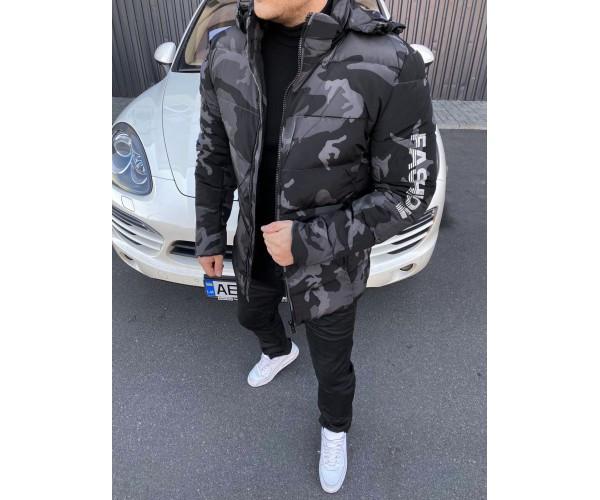 Куртка camo black 35-3
