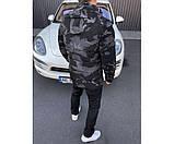 Куртка camo black 35-3, фото 3