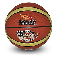 Мяч баскетбольный резиновый BT-BTB-0028 размер 7 Коричневый