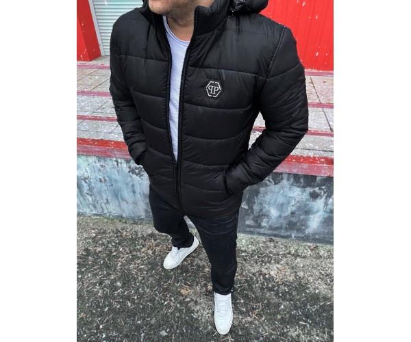 Куртка plein black 7-2