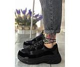 Жіночі кросівки triple black summer 20-3+, фото 2