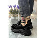 Жіночі кросівки triple black summer 20-3+, фото 3