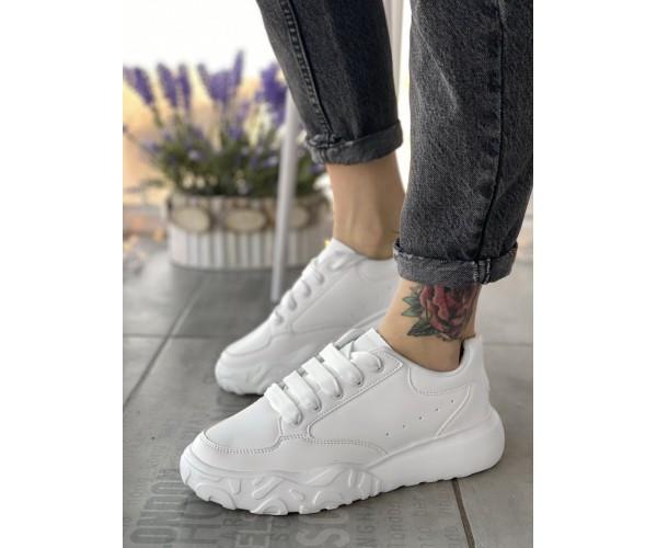 Женские кроссовки  cross step white 16-2