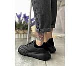 Жіночі кросівки cross step black 15-2+, фото 3