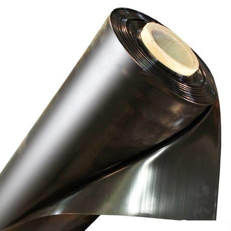 Пленка полиэтиленовая строительная 50 микрон чёрная
