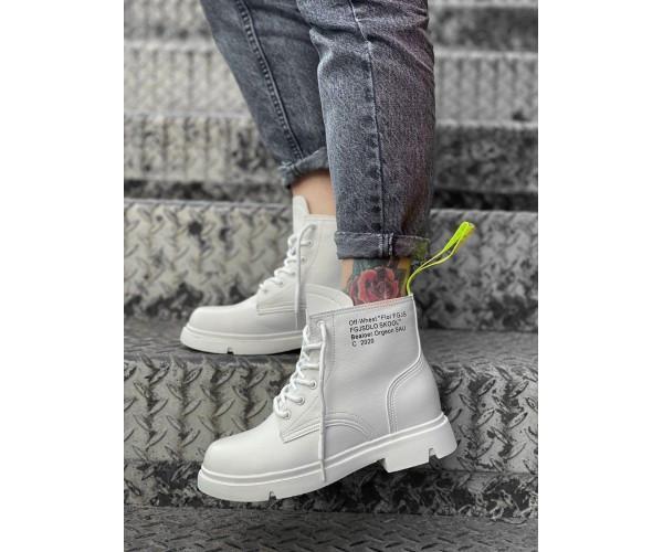 Женские ботинки off white 22-3+
