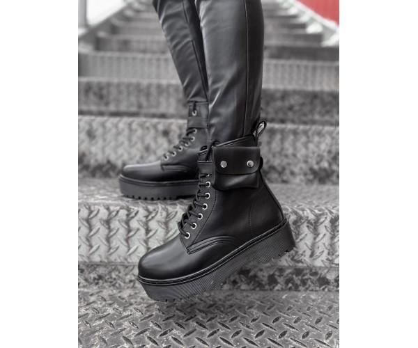 Жіночі черевики rikki black 32-2