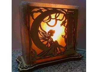 Соляна лампа Фея