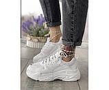 Жіночі кросівки triple white 19-1, фото 2