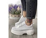 Женские туфли mona white 34-3, фото 2