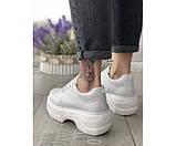 Женские туфли mona white 34-3, фото 3