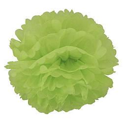 Декор бумажные Помпоны 20см (зеленый) 979812568