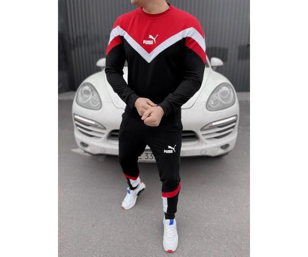 Спортивный костюм  Puma retro 7-3+