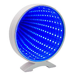Світильник Нескінченність USB Коло (блакитний)