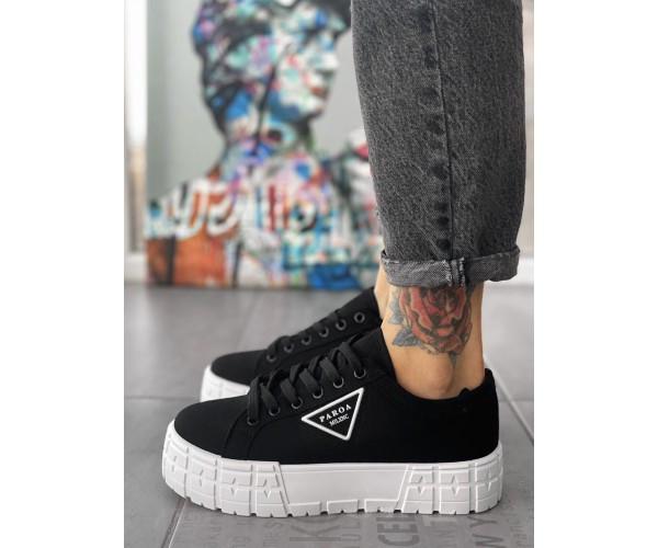 Жіночі кросівки paox black 18-1
