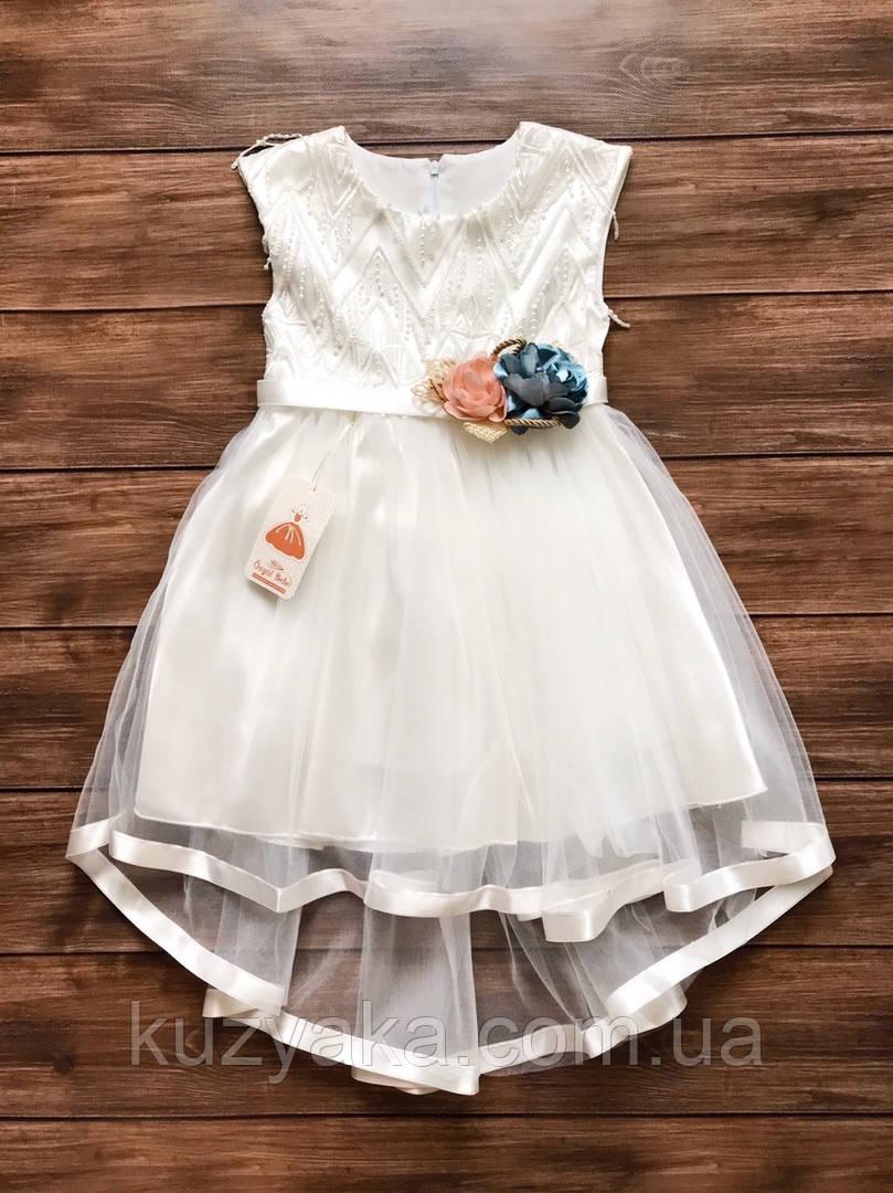 Ошатне дитяче плаття на 5-7 років, плаття на випускний в садок