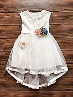 Нарядное детское платье на 5-7 лет, платье на выпускной в садик
