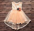 Ошатне дитяче плаття на 5-7 років, плаття на випускний в садок, фото 2