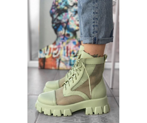 Женские ботинки Lena green 20-1+
