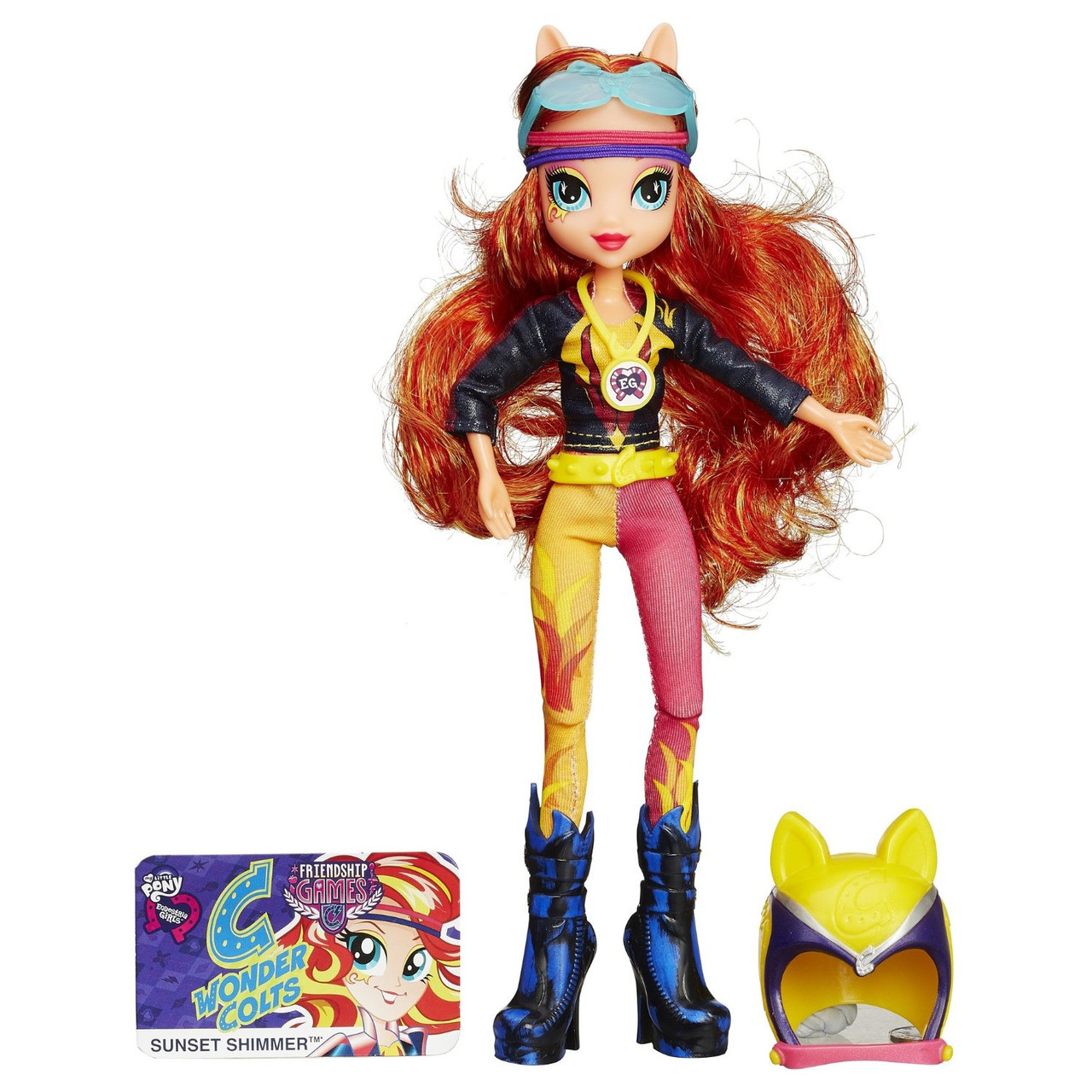 Май Литл Пони Сансет Шиммер Мотокросс My Little Pony Equestria Girls Sunset Shimmer Sporty Style Motocross