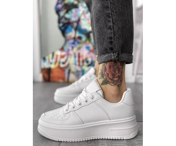 Жіночі кросівки force up white 25-1