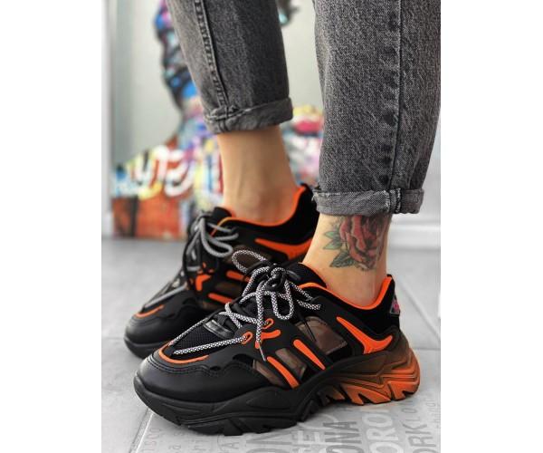 Жіночі кросівки orange gradient 33-2