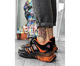 Женские  кроссовки orange gradient 33-2, фото 3
