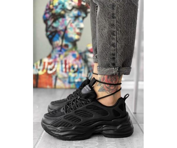 Жіночі кросівки skeleton black 30-0+
