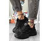Жіночі кросівки skeleton black 30-0+, фото 2