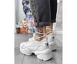 Жіночі кросівки dior pagini white 24-0, фото 3