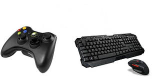 Мыши, клавиатуры, джойстики