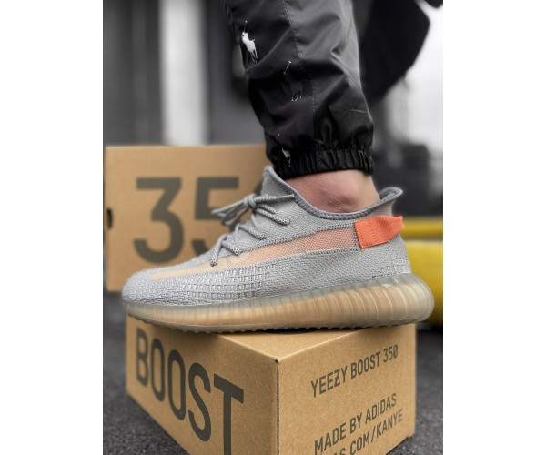 Кроссовки boost grey/orange 34-3