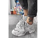 Жіночі кросівки CK white 30-2, фото 2