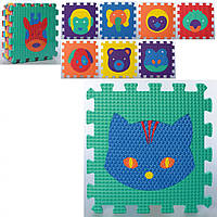 Детский коврик Мозаика MR 0356 из 9 элементов