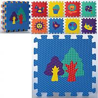 Детский коврик Мозаика MR 0357 из 9 элементов